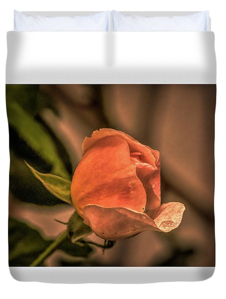 Duvet Cover featuring the photograph July 26, 2015 by Leif Sohlman