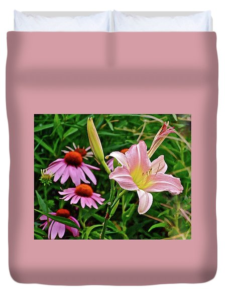 July Lily #10 Duvet Cover