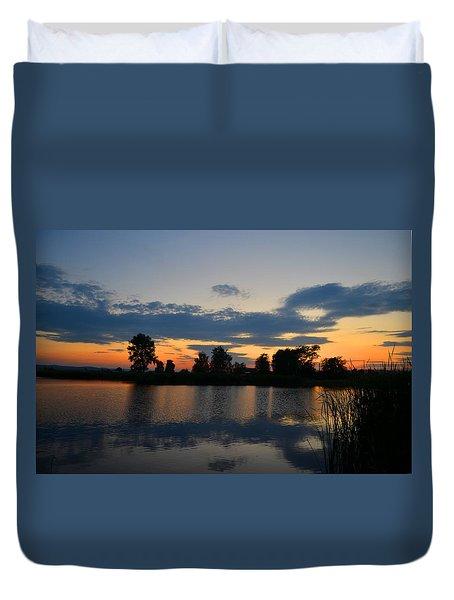 July Sunset Duvet Cover