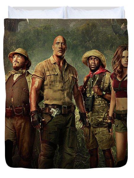 Jumanji Welcome To The Jungle 2.0 Duvet Cover