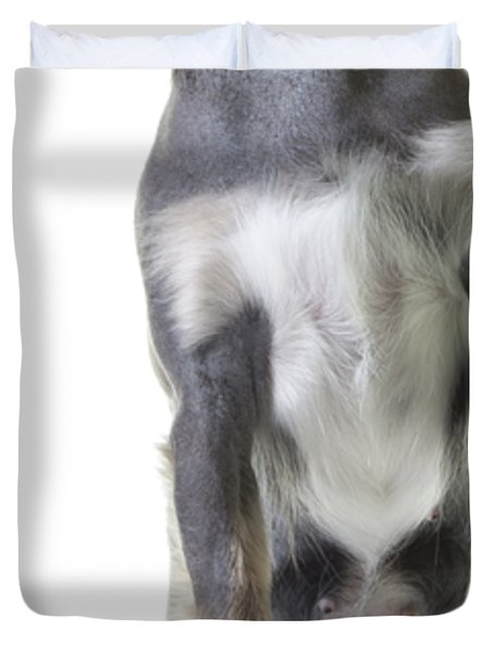 Jumping Dog Tee Duvet Cover