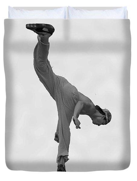 Jumping Man Duvet Cover