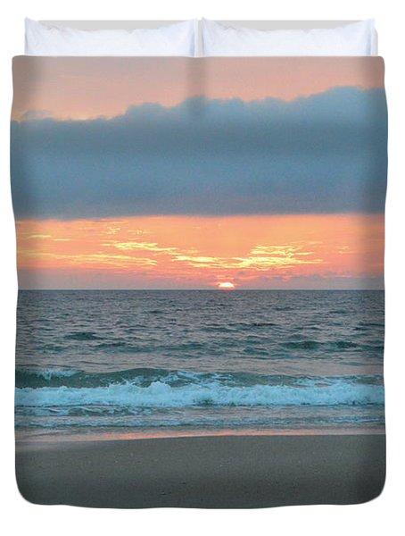 June 20 Nags Head Sunrise Duvet Cover