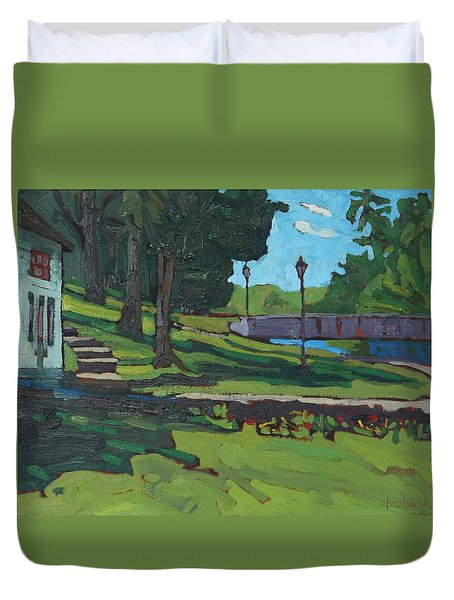 June Afternoon At Chaffeys Duvet Cover