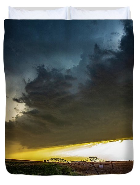 June Comes In With A Boom 005 Duvet Cover