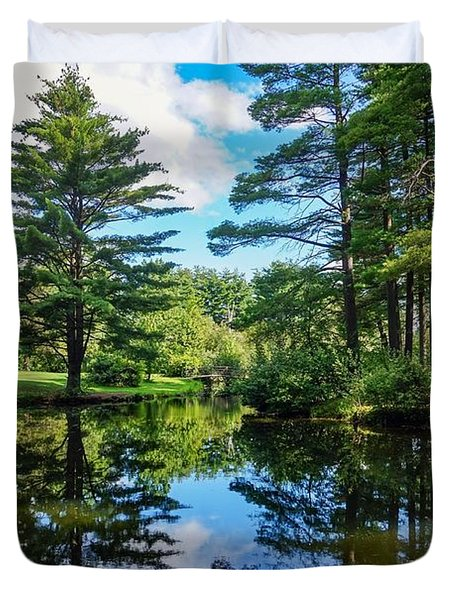 June Day At The Park Duvet Cover