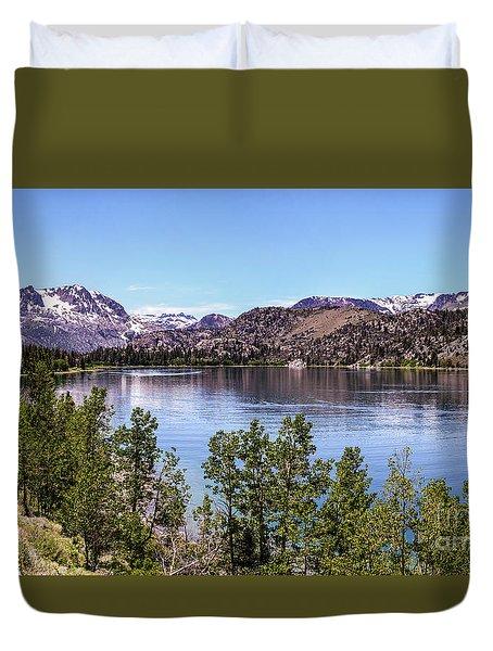 June Lake Duvet Cover