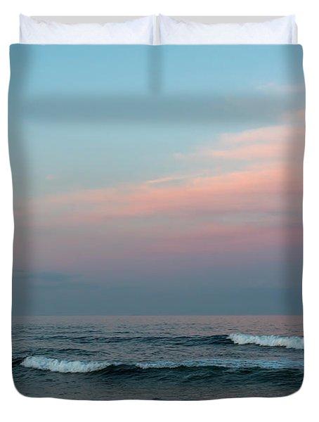 June Sky Seaside New Jersey Duvet Cover