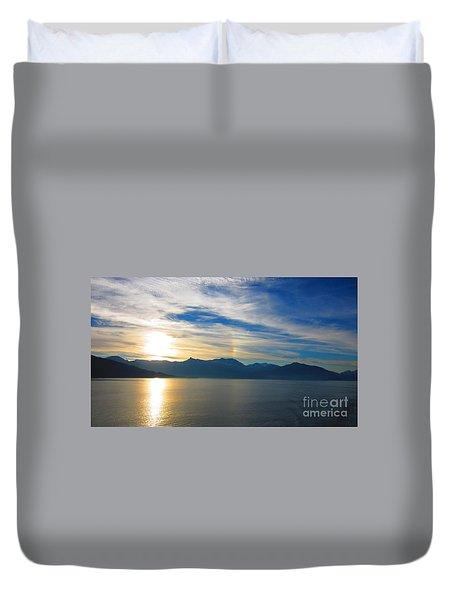 Juneau, Alaska Duvet Cover