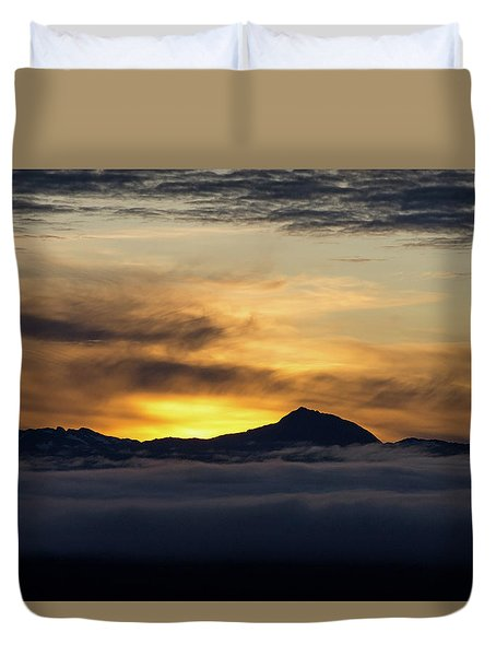 Juneau Morning Duvet Cover