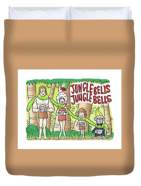 Jungle Bells Duvet Cover