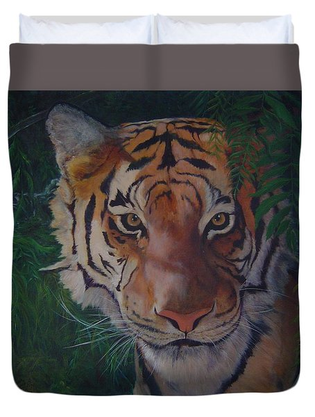 Jungle Eyes Duvet Cover