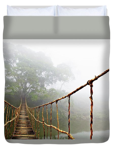 Jungle Journey Duvet Cover