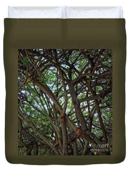 Jungle Maze Duvet Cover