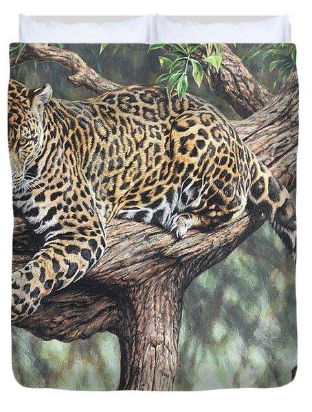 Jungle Outlook Duvet Cover