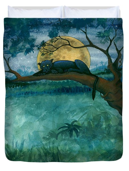 Jungle Panther Duvet Cover
