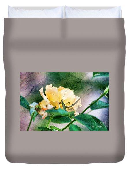 Jungle Rose Duvet Cover