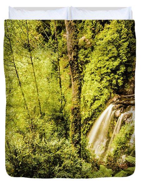 Jungle Steams Duvet Cover