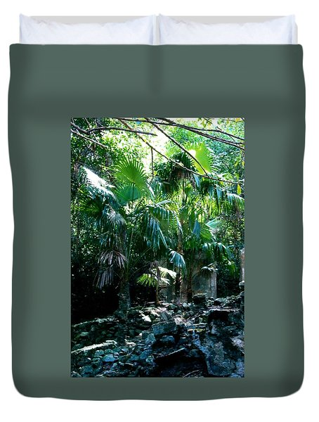 Jungle Sun  Duvet Cover