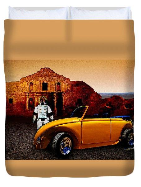 Juni Do You Remember The Alamo? Duvet Cover