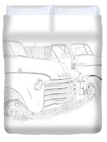 Junkyard Finds Duvet Cover