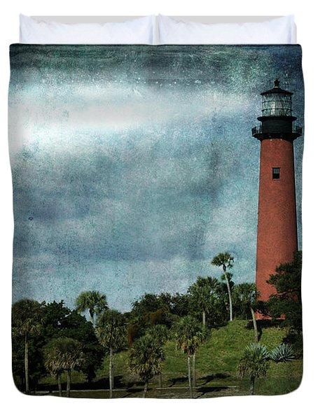 Jupiter Lighthouse-2a Duvet Cover