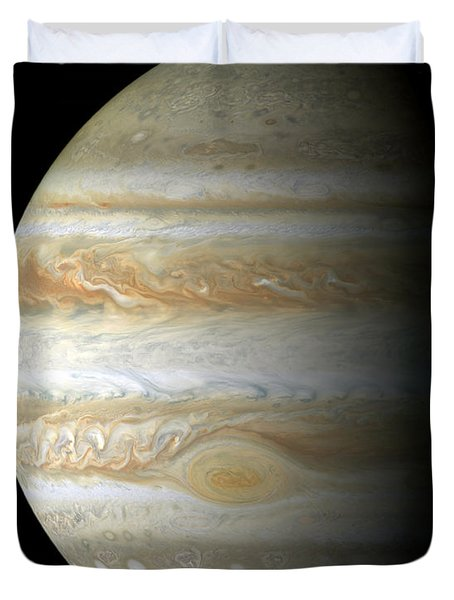 Jupiter Mosiac Duvet Cover by Stocktrek Images