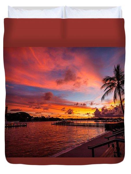 Jupiter Sunrise Duvet Cover