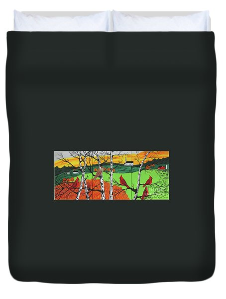 Just A Beautiful Day Duvet Cover
