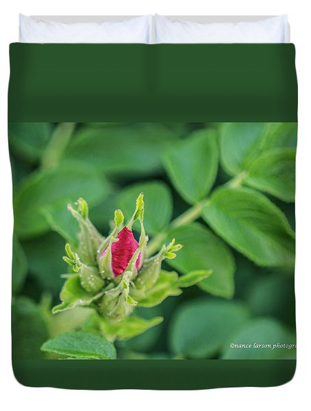 Just A Bud Duvet Cover