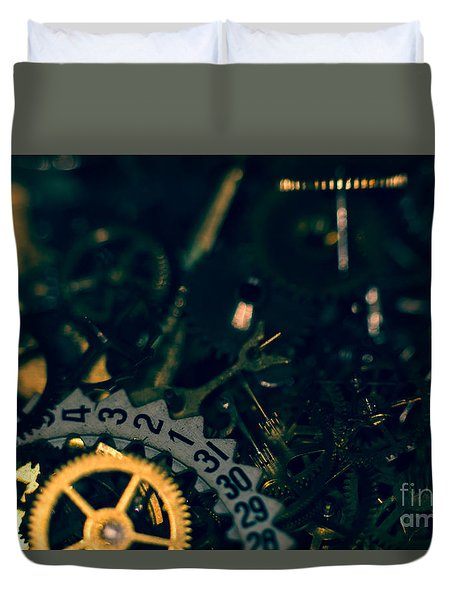 Just A Cog In The Machine 1 Duvet Cover