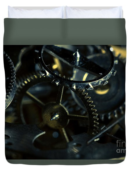 Just A Cog In The Machine 5 Duvet Cover