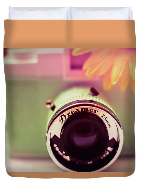 Just A Dreamer  Duvet Cover by Terry DeLuco