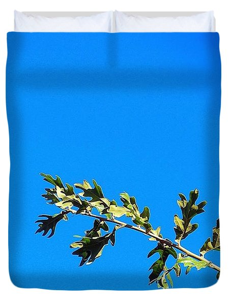 Just A Perfect #sunny #noclouds Duvet Cover