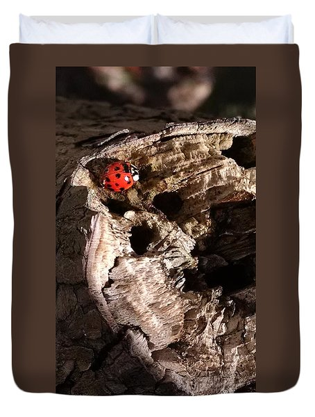 Just A Place To Rest Duvet Cover