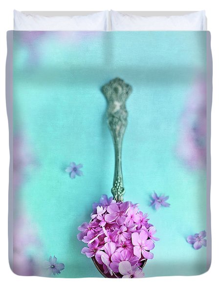 Just A Spoonful Of Petals  Duvet Cover