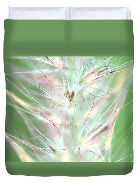 Just A Weed In The Park Duvet Cover by Christine Ricker Brandt