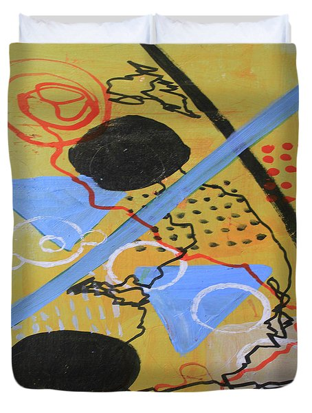Just Above The Line Duvet Cover