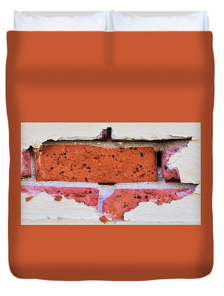 Just Another Brick In The Wall Duvet Cover by Josephine Buschman