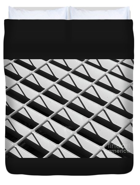 Just Another Grate Duvet Cover