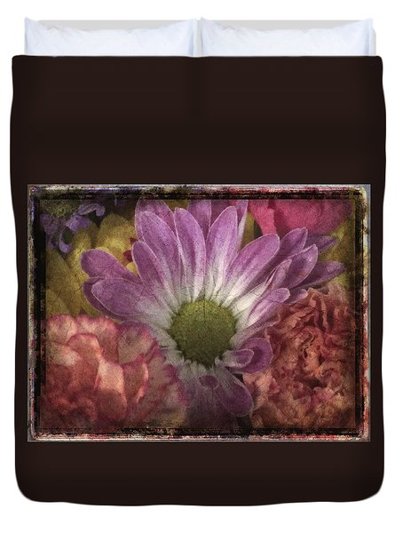 Just Because Bouquet Duvet Cover by Betty  Pauwels