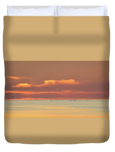 Just Before Sunrise 2  Duvet Cover