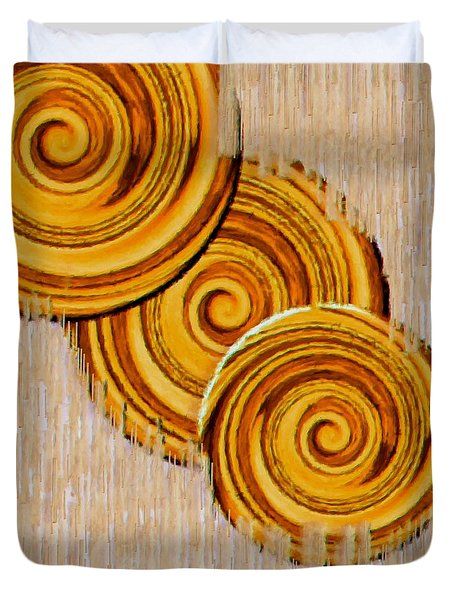Just Bread Duvet Cover by Pepita Selles