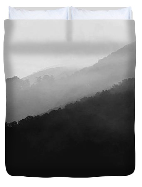 Just Breathe Duvet Cover by Gray  Artus