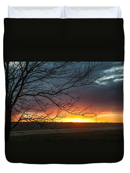 Duvet Cover featuring the photograph Just Breathe by Shirley Heier