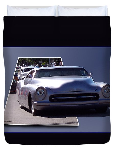 Just Cruising Duvet Cover by Thomas Woolworth