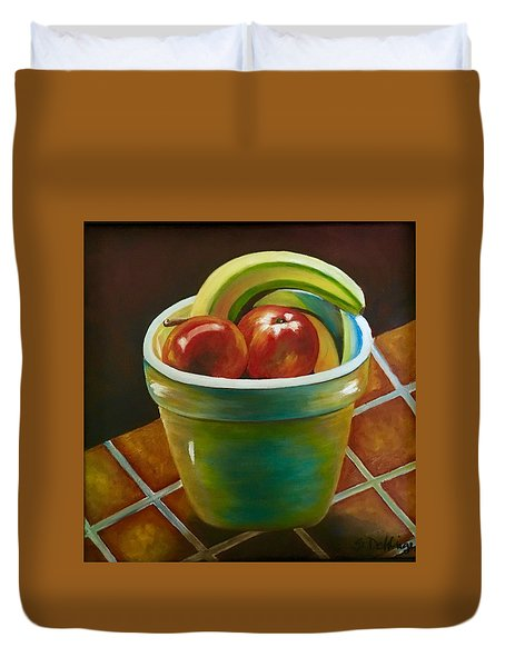 Just Fruit Reflections Duvet Cover