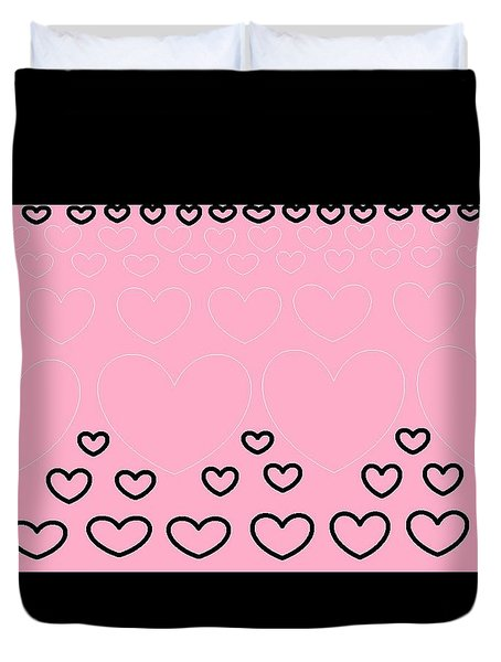 'just Hearts 8' Duvet Cover