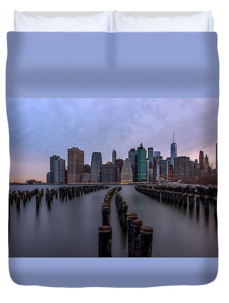 Just In Time Duvet Cover
