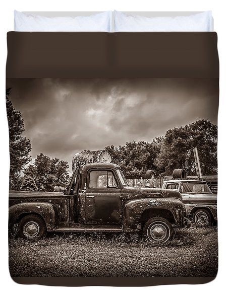 Just In Time Duvet Cover by Ray Congrove